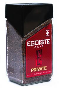 Кофе растворимый Egoiste Private 100 г в стеклянной банке (52832)