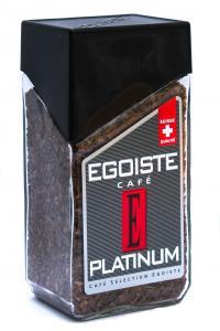 Кофе растворимый Egoiste Platinum 100 г в стеклянной банке (52833)