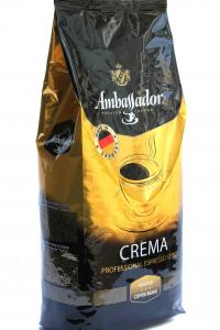 Кофе в зернах Ambassador Crema 1 кг (52862)