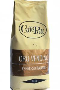 Caffe Poli. Oro Vending. Зерновой кофе,  1кг