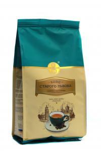 Кофе молотый с ароматом ирландского крема Кава Старого Львова Лигуминна 200 г