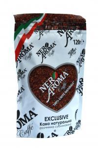 Кофе растворимый Nero Aroma Exclusive 120 г (52124)