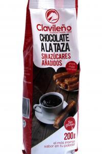 Горячий шоколад Clavileno Alataza С заменителем сахара 200 г (52054)