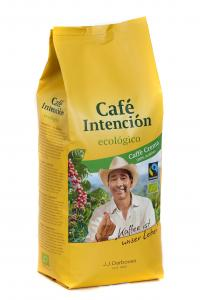 CAFE INTENCION Ecologico Cafe Crema, зерновой кофе, 1кг