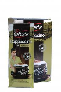 Кофейный напиток La Festa capuccino hazelnut в стиках 10 х 12,5 г (578)
