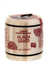 Deluxe Uganda Erussi. Зерновой кофе, 250г в деревянном боченке