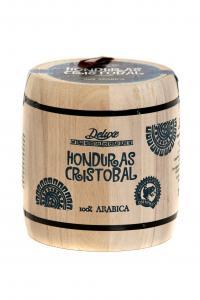 Кофе зерновой Deluxe Honduras Cristobal 250 г в деревянном боченке