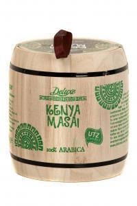 Кофе зерновой Deluxe Kenya Masai 250 г в деревянном боченке