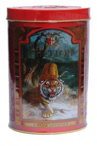 Чай черный Chelton Король джунглей 100 г в металлической банке