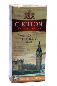 Чай черный в пакетиках Chelton Традиционный 25 шт х 1,7 г