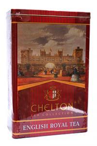 Чай черный крупнолистовой Chelton Английский королевский чай 200 г в металлической банке