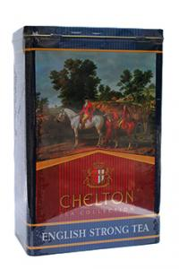 Чай черный Chelton Английский крепкий чай 200 г в металлической банке