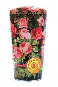 Чай черный с лепестками цветов Chelton Ваза с розами 100 г в металлической банке