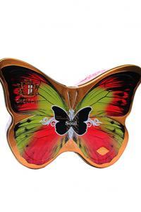 Чай черный с экстрактом маракуйи и лепестками цветов Chelton Бабочка Душа 100 г в металлической банке