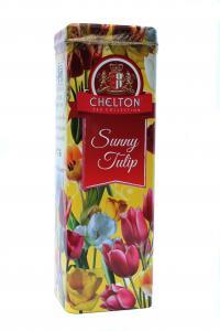 Чай черный Chelton Солнечный тюльпан 80 г в металлической банке