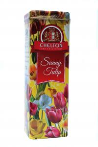 "Chelton ""Солнечный тюльпан"", черный чай, 80г,  Ж/б"