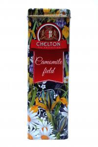 Чай черный Chelton Ромашковое поле 80 г в металлической банке