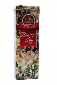 Чай черный Chelton Прекрасные лилии 80 г в металлической банке