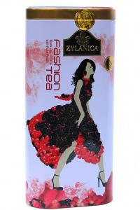 Чай чорний з пелюстками квітів Zylanica Fashion tea Троянда 100 г  (51930)