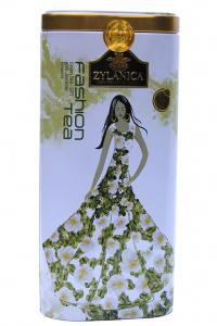 Чай зеленый с лепестками цветов Zylanica Fashion tea Жасмин 100 г  (51934)