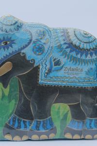 Чай черный с зеленым Zylanica Голубой слон 200 г в металлической банке