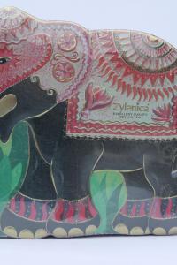 Чай черный Super Pekoe Zylanica Красный слон 200 г в металлической банке