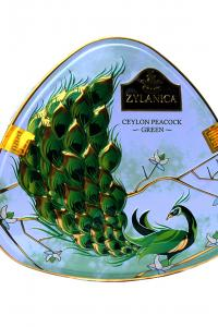 Чай зеленый ганпаудер Zylanica Зеленый павлин 100 г  (51939)