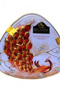 Чай черный Pekoe Zylanica Оранжевый павлин 100 г в металлической банке