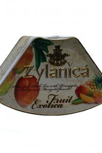Чай чорний з тропічними фруктами Zylanica Фруктова екзотика Ананас 100 г  (896)