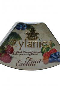 Чай чорний з ароматом малини і чорниці Zylanica Фруктова екзотика Малина 100 г  (898)