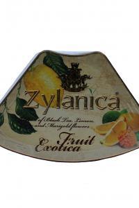 Чай чорний з лимоном та лаймом Zylanica Фруктова екзотика Лимон 100 г  (897)