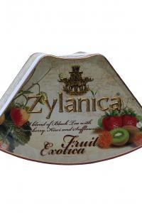 Чай чорний з полуницею та ківі Zylanica Фруктова екзотика Полуниця 100 г  (899)