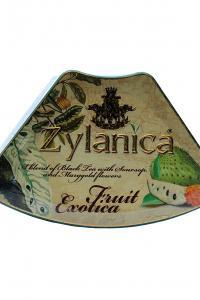 Чай чорний з саусепом  Zylanica Фруктова екзотика Саусеп 100 г  (900)