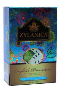 Чай чорний з ароматом саусепа  Zylanica Soursop 100 г