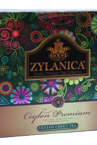 Чай зеленый в пакетиках Zylanica Ceylon Premium 100 шт х 2 г