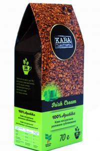 Кофе растворимый Кава Характерна Irish Cream с ароматом ирландского крема 70 г (52489)