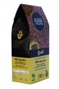 Кофе растворимый Кава Характерна Gold 130 г (52488)