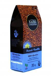 Кофе растворимый Кава Характерна French Vanilla с ароматом французской ванили 70 г (52491)