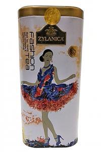 Чай черный с лепестками цветов Zylanica Fashion tea Васильки-сафлора 100 г  (51933)